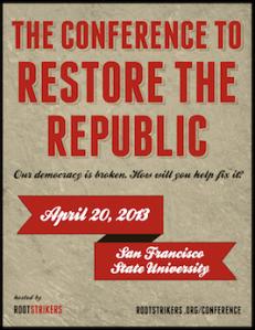 Restore the Republic Flyer